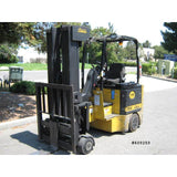 2000 BENDI B40 4000 LB 48 VOLT ELECTRIC FORKLIFT CUSHION 88/258 QUAD MAST SIDE SHIFTER 833 HOURS STOCK # BF9105099-MYRATL