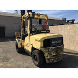 2006 HYSTER H110XM 11000 LB LP GAS FORKLIFT PNEUMATIC 115/171 2 STAGE MAST SIDE SHIFTER 4462 HOURS STOCK # BF18750-MYRATL