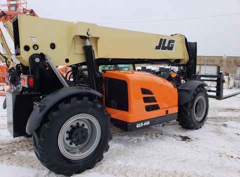 2016 JLG G15-44A 15000 LB DIESEL TELESCOPIC FORKLIFT 4WD ENCLOSED CAB HEAT AND A/C STOCK # BF9154639-VAOH - united-lift-equipment