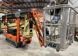 2018 JLG X600AJ CRAWLER BOOM LIFT ARTICULATING WITH JIB ARM LIFT ELECTRIC 60' REACH TRAX TIRES HYDRAULIC OUTRIGGERS STOCK # BF91341699-NLEQ - United Lift Equipment LLC