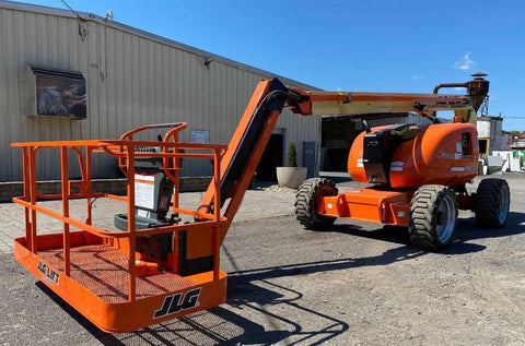 2013 JLG 600AJ ARTICULATING BOOM LIFT AERIAL LIFT WITH JIB ARM 60' REACH DIESEL 4WD 1625 HOURS STOCK # BF9491499-NLEQ