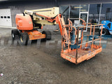 2010 JLG 450AJ ARTICULATING BOOM LIFT AERIAL LIFT WITH JIB ARM 45' REACH DIESEL 4WD 1481 HOURS STOCK # BF9295039-BATNY