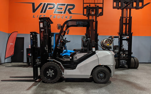"2020 VIPER FY35 8000 LB LP GAS FORKLIFT PNEUMATIC 89/189"" 3 STAGE MAST SIDE SHIFTER BRAND NEW STOCK # BF9283609-ILIL - United Lift Used & New Forklift Telehandler Scissor Lift Boomlift"