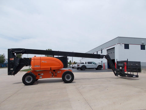 2006 JLG 800AJ TELESCOPIC BOOM LIFT AERIAL LIFT 80' REACH DUAL FUEL 4WD 879 HOURS STOCK # BF923670-RIL