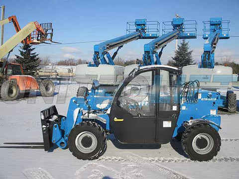 2019 GENIE GTH5519 5500 LB DIESEL TELESCOPIC FORKLIFT TELEHANDLER PNEUMATIC 4WD HEATED CAB BRAND NEW STOCK # BF9644379-HLNY