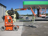 2013 JLG E300AJP ARTICULATING BOOM LIFT AERIAL LIFT 30' REACH ELECTRIC 2WD 120 HOURS STOCK # BF9272059-HLNY