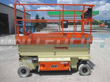 2019 JLG 3246ES SCISSOR LIFT 32' REACH ELECTRIC SMOOTH CUSHION TIRES BRAND NEW STOCK # BF9225349-HLNY
