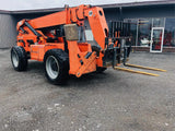 2012 LULL 1044C-54 10000 LB DIESEL TELESCOPIC FORKLIFT TELEHANDLER PNEUMATIC ENCLOSED CAB 4WD 4279 HOURS STOCK # BF9720179-BATNY