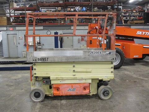 2011 JLG 2630ES SCISSOR LIFT 26' REACH ELECTRIC CUSHION TIRES 265 HOURS STOCK # BF9100989-HLNY - United Lift Used & New Forklift Telehandler Scissor Lift Boomlift