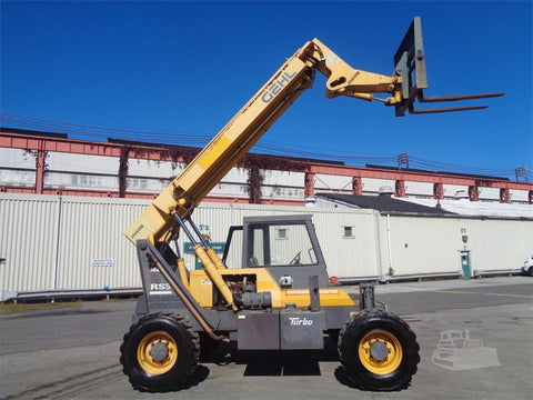 2008 GEHL RS5-34 5000 LB DIESEL TELESCOPIC FORKLIFT TELEHANDLER PNEUMATIC 4WD ENCLOSED CAB 3813 HOURS STOCK # BF9611339-ESPA