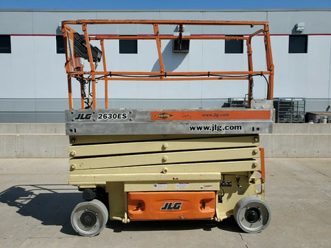 2007 JLG 2630ES SCISSOR LIFT 26' REACH ELECTRIC CUSHION TIRES 481 HOURS STOCK # BF9258029-RIL - United Lift Equipment LLC