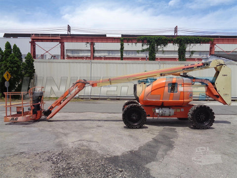 2007 JLG 600AJN ARTICULATING BOOM LIFT AERIAL LIFT WITH JIB ARM 60' REACH DUAL FUEL 3581 HOURS STOCK # BF9164979-ESPA