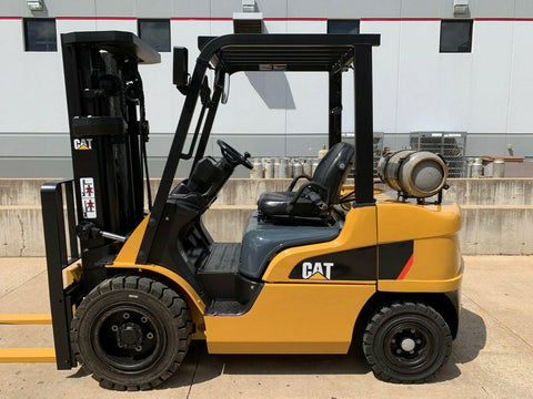 2012 CATERPILLAR 2P6000 6000 LB LP GAS FORKLIFT PNEUMATIC 83/188 3 STAGE MAST SIDE SHIFTER 3144 HOURS STOCK # BF959958-RIL
