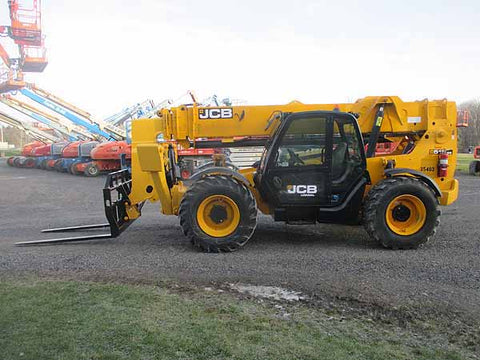 2016 JCB 512-56 12000 LB 4x4 DIESEL TELESCOPIC FORKLIFT TELEHANDLER ENCLOSED CAB 4249 HOURS STOCK # BF9843019-HLNY - United Lift Used & New Forklift Telehandler Scissor Lift Boomlift