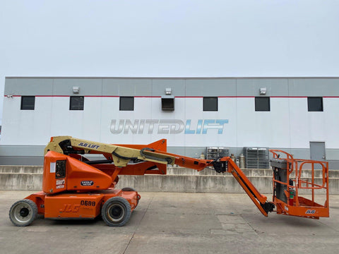 2008 JLG E400AJPN TELESCOPIC BOOM LIFT AERIAL LIFT 40' REACH ELECTRIC 2WD 1332 HOURS STOCK # BF9248739-RIL