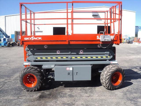 2007 SKYJACK SJ7127RT SCISSOR LIFT 27' REACH DUAL FUEL PNEUMATIC TIRES 3275 HOURS STOCK # BF997549-WIBIL