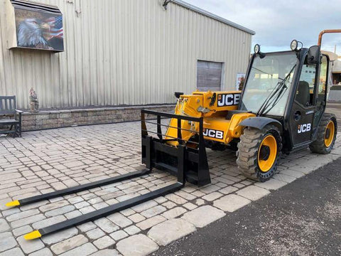 2017 JCB 525-60 5500 LB 4x4 DIESEL TELESCOPIC FORKLIFT TELEHANDLER ENCLOSED 2480 HOURS STOCK # BF9421239-NLEQ