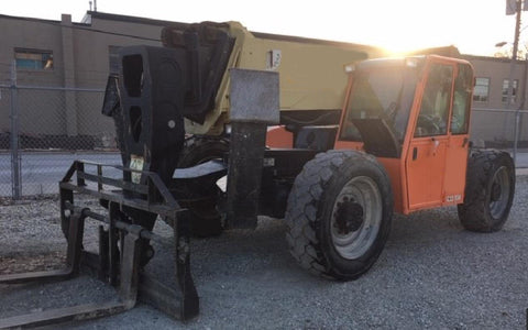 2013 JLG G12-55A 12000 LB DIESEL TELESCOPIC FORKLIFT TELEHANDLER PNEUMATIC 4WD ENCLOSED CAB 4650 HOURS STOCK # BF9672249-NLEQ - United Lift Used & New Forklift Telehandler Scissor Lift Boomlift