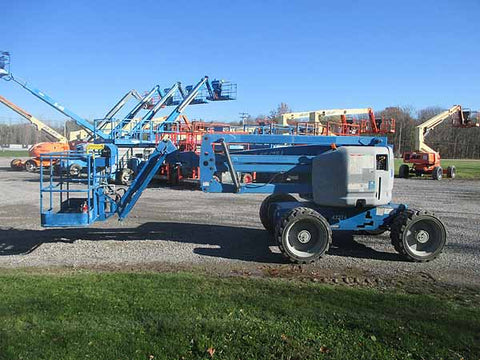 2012 GENIE Z45/25JRT ARTICULATING BOOM LIFT AERIAL LIFT 45' REACH DIESEL 4WD 1713 HOURS STOCK # BF9353899-HLNY