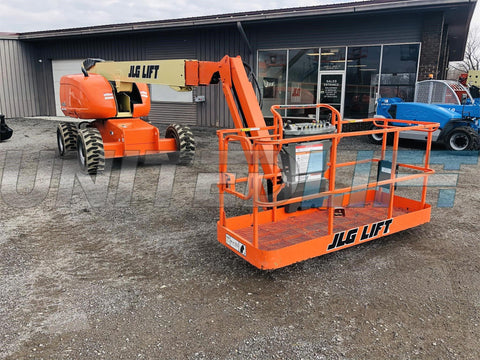 2006 JLG 600SJ TELESCOPIC BOOM LIFT AERIAL LIFT STRAIGHT WITH JIB ARM 60' REACH DIESEL 4WD 2868 HOURS STOCK # BF9365299-BATNY