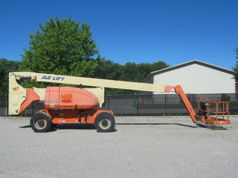 2008 JLG 800AJ TELESCOPIC BOOM LIFT AERIAL LIFT 80' REACH DUAL FUEL 4WD 3751 HOURS STOCK # BF98001A-RIL