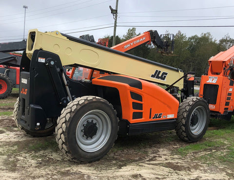 2019 JLG G7-42 7000 LB DIESEL TELESCOPIC FORKLIFT 4WD 330 HOURS STOCK # BF9661259-WIBGA - United Lift Used & New Forklift Telehandler Scissor Lift Boomlift