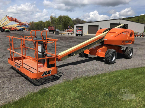 2017 JLG 400S TELESCOPIC BOOM LIFT AERIAL LIFT 40' REACH DIESEL 4WD 368 HOURS STOCK # BF9461519-ISNY