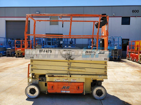 2015 JLG 2630ES SCISSOR LIFT 26' REACH ELECTRIC CUSHION TIRES 190 HOURS STOCK # BF9252659-RIL