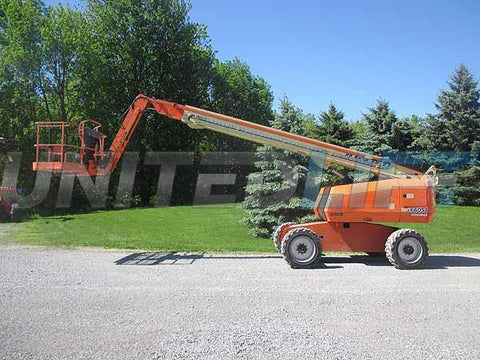 2012 JLG 660SJ TELESCOPIC BOOM LIFT AERIAL LIFT WITH JIB ARM 66' REACH DIESEL 4WD 4254 HOURS STOCK # BF9559359-HLNY