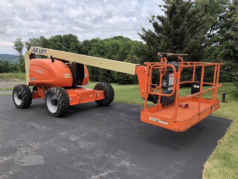 2014 JLG 600A ARTICULATING BOOM LIFT AERIAL LIFT 60' REACH DIESEL 4WD 592 HOURS STOCK # BF9451399-ISNY
