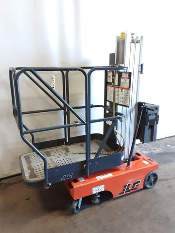 2004 JLG 12MSP PERSONAL MAN AERIAL BOOM SCISSOR LIFT 12 FOOT REACH ELECTRIC STOCK # BF9231389-NCB