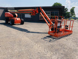 2008 JLG 1350SJP TELESCOPIC BOOM LIFT AERIAL LIFT 135' REACH DIESEL 4WD JIB ARM 2523 HOURS STOCK # BF9890259-BATNY - United Lift Used & New Forklift Telehandler Scissor Lift Boomlift