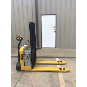 2013 YALE MPW050 5000 LB ELECTRIC WALKIE PALLET JACK CUSHION 2696 HOURS STOCK # 2932-588539-ARB