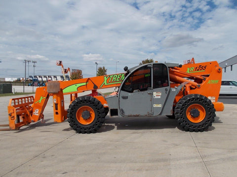 2012 XTREME XR1255 12000 LB DIESEL TELESCOPIC FORKLIFT TELEHANDLER PNEUMATIC 4WD STOCK # BF922988-RIL