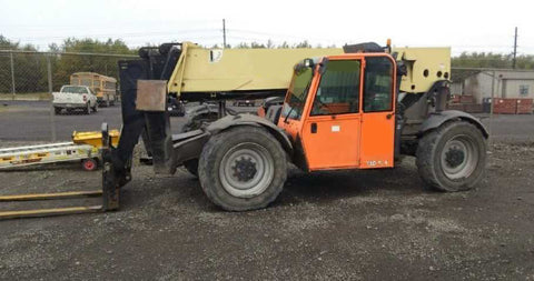 2014 JLG G10-55A 10000 LB DIESEL TELESCOPIC FORKLIFT TELEHANDLER PNEUMATIC 4WD ENCLOSED HEATED CAB 3417 HOURS STOCK # BF9691299-NLEQ - United Lift Used & New Forklift Telehandler Scissor Lift Boomlift