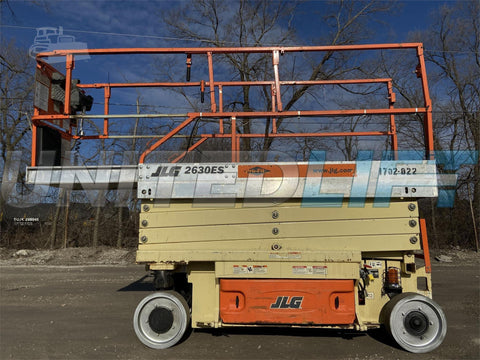 2006 JLG 2630ES SCISSOR LIFT 26' REACH ELECTRIC CUSHION TIRES STOCK # BF9JLG76739-RIL2