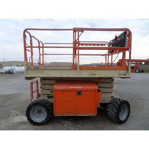 2007 JLG 260MRT SCISSOR LIFT 26' REACH DUAL FUEL ROUGH TERRAIN 4WD 1867 HOURS STOCK # BF970119-FILB