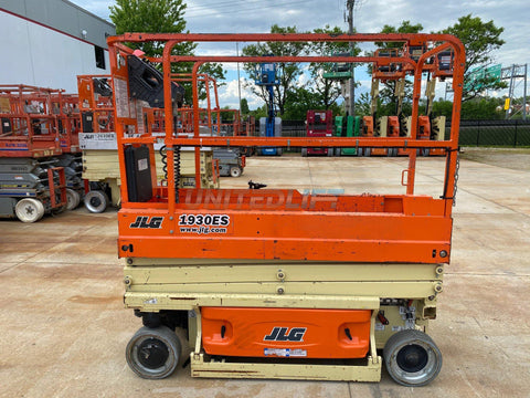 2016 JLG 1930ES SCISSOR LIFT 19' REACH ELECTRIC 945 HOURS STOCK # BF9252639-RIL