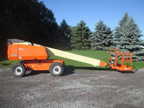 2017 JLG 600S STRAIGHT BOOM LIFT AERIAL LIFT 60' REACH DIESEL 4WD 661 HOURS STOCK # BF9773139-HLNY