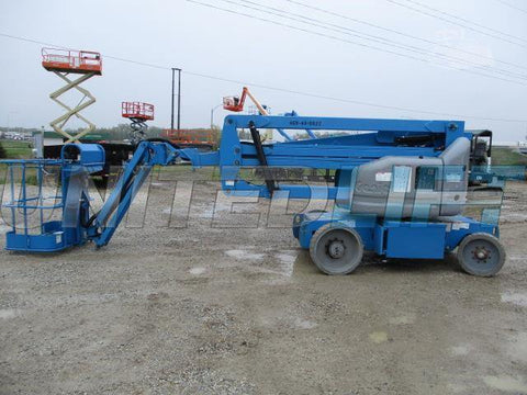 2010 GENIE Z40/23NRJ ARTICULATING BOOM LIFT AERIAL LIFT WITH JIB ARM 40' REACH ELECTRIC 1097 HOURS STOCK # BF9245199-CEIL