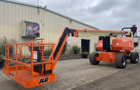 2012 JLG 800AJ TELESCOPIC ARTICULATING BOOM LIFT AERIAL LIFT WITH JIB ARM 80' REACH DIESEL 4WD 2738 HOURS STOCK # BF9450099-NLEQ - United Lift Used & New Forklift Telehandler Scissor Lift Boomlift
