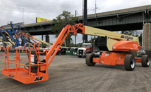 2012 JLG 1250AJP ARTICULATING BOOM LIFT AERIAL LIFT WITH JIB ARM 125' REACH DIESEL 4WD 2570 HOURS STOCK # BF9891509-NLEQ