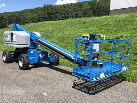 2019 GENIE S40 TELESCOPIC BOOM LIFT AERIAL LIFT 40' REACH DIESEL 4WD 9 HOURS STOCK # BF9442289-ISNY