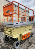 2014 JLG 3246ES SCISSOR LIFT 32' REACH ELECTRIC SMOOTH CUSHION TIRES 95 HOURS STOCK # BF9123579-NLEQ - United Lift Used & New Forklift Telehandler Scissor Lift Boomlift