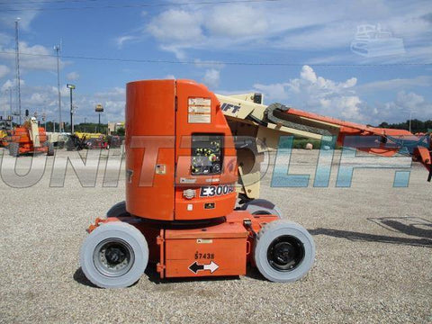 2007 JLG E300AJ ARTICULATING BOOM LIFT AERIAL LIFT 30' REACH ELECTRIC 1237 HOURS STOCK # BF9115159-CEIL