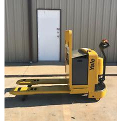 2003 YALE MPW060 6000 LB ELECTRIC WALKIE PALLET JACK CUSHION 4974 HOURS STOCK # 2486-02467A-ARB - Buffalo Forklift LLC