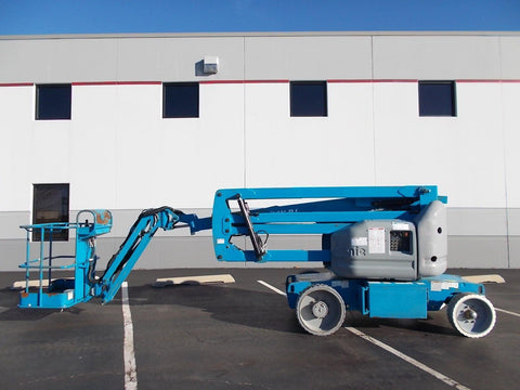 2008 GENIE Z40/23NRJ 500 LBS ELECTRIC ARTICULATING BOOM LIFT CUSHION 1028 HOURS STOCK # BF924014-RIL