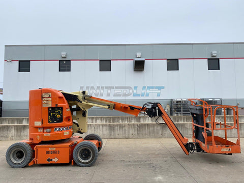 2012 JLG E300AJP ARTICULATING BOOM LIFT AERIAL LIFT 30' REACH ELECTRIC 525 HOURS STOCK # BF9249919-RIL