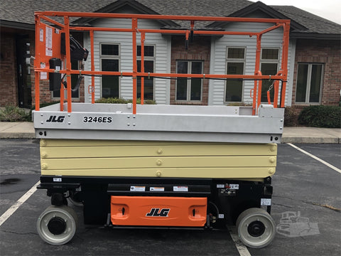 2020 JLG 3246ES SCISSOR LIFT 32' REACH ELECTRIC SMOOTH CUSHION TIRES BRAND NEW STOCK # BF9173559-ISNY - United Lift Used & New Forklift Telehandler Scissor Lift Boomlift