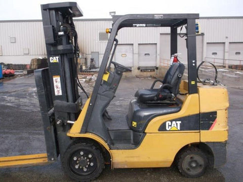 2012 CAT 2C6000 6000 LB LP GAS FORKLIFT CUSHION 84/186 3 STAGE MAST SIDE SHIFTER 1655 HOURS STOCK # BF9353729-DPKN